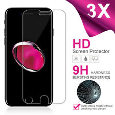 3X For iPhone 5 5S 6 6s 7 8 Plus X Xs Max XR 11 Tempered GLASS Screen Protector
