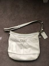 Pre-owned Coach HOBO bag Cream/Ivorycolor, soft leather,in good condition.