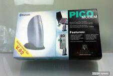 PICO Bluetooth 56K Fax-Modem, V90, analog, ohne Kabelsalat ins Web, bis 100m NEU