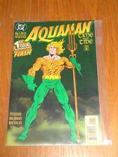 AQUAMAN TIME AND TIDE #1 OF 4 DC COMICS DECEMBER 1993