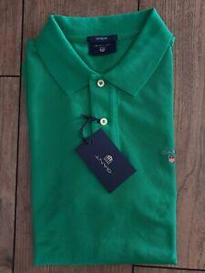 Gant 2201 original Pique Poloshirt Gr.M Jelly Green NWT Regular Fit Spring...