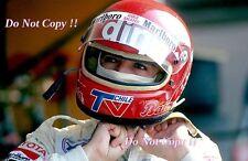 Eliseo Salazar marzo F1 retrato Austriaco Grand Prix 1981 fotografía