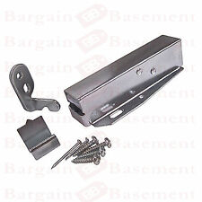 LOFT DOOR TOUCH CATCH Attic Hatch Sprung Cupboard Latch Lock PUSH OPEN/CLOSE