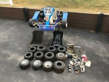 Racing Go Kart Top cart chassis Comer K125 125cc engine w/ extras Tires Seats
