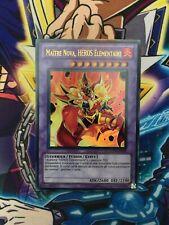 Yu-Gi-Oh! Maître Nova, Héros Elémentaire GENF-FR093 / Ultra Rare