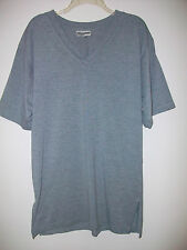 Men's Gray V-Neck T-Shirt