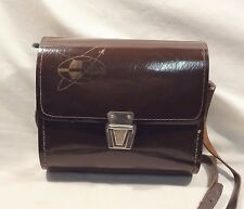 VINTAGE 1960's SOVIET RUSSIAN USSR PHOTO SHOOTING FLASH * CHAIKA * LEATHER CASE