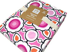 Pottery Barn Teen Cotton Pink Fresh Pick Dots Circle Full Queen Duvet Cover New
