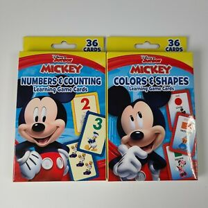 Disney Junior Mickey Numbers & Counting, Colors & Shapes Kids Fun Learning Tool