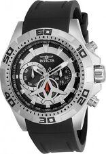Invicta 21735 Men's 51mm Aviator Black Polyurethane Band Quartz Analog Watch