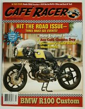 Cafe Racer Hit the Road Issue BMW R100 Custom June July 2016 FREE SHIPPING JB