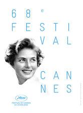 FESTIVAL CANNES 2015 Affiche Cinéma / Movie Poster 53x40 INGRID BERGMAN