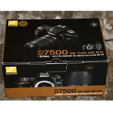 Nikon D7500 with AF-S DX 18-140mm f/3.5-5.6G ED VR Lens Kit(Multi)  New
