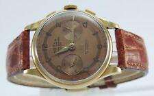 Vintage Coresa Chronographe Gold 750er 18 Karat Suisse Antimagnetic Herren Uhr