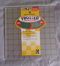 Olfa Frosted Acrylic Quilt Ruler 9.5 in x 9.5 in