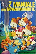 2 MANUALE DELLE GIOVANI MARMOTTE DISNEY MONDADORI SECONDA EDIZIONE 1976