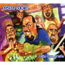 Koch, Greg - Radio Free Gristle FAVORED NATIONS CD NEU OVP