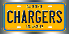 Los Angeles Chargers Football NFL  License Plate Vanity Auto Tag Fathers Day