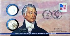2008 P & D $1 JAMES MONROE FIRST DAY COIN COVER PRESIDENTIAL DOLLAR P25 - SEALED