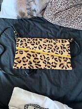 Topshop leopard print handbag pony skin leather