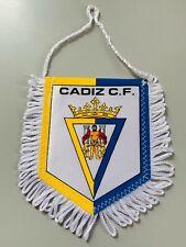 Cadiz CF fanion vintage football banderin pennant wimpel liga