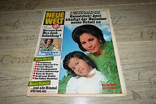 NUOVO mondo n. 41/1972 TB Ratna Dewi, Pop Star Andy Warhol, Marianne Koch