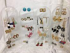 Earrings On Display Stand 53 Pairs Huge Job Lot
