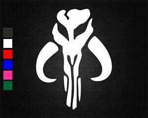 MANDALORIAN MYTHOSAUR VINYL DECAL STICKER CAR/VAN/WALL/WINDOW/DOOR/LAPTOP/TABLET