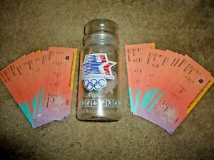 1984 Summer Olympics in Los Angeles: 22 tickets and official M&M container