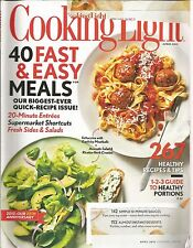 Cooking Light April 2012 40 Fast & Easy Meals/Kids in the Kitchen/Portions