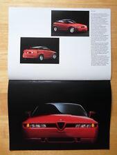 ALFA ROMEO Tipo 33 Giulietta GT Junior Giulia TZ/2 SZ Zagato exhibition brochure