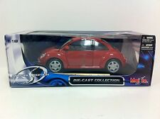 Maisto Special Edition Volkswagen New Beetle 1/18 Diecast Car - NEW
