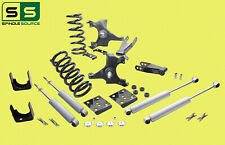 "1988 - 1991 Chevy GMC C1500 W/1"" ROTORS V6 STD CAB 5""/7""-8""Drop Kit + SHOCKS"