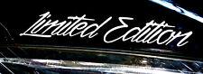 ADESIVI LIMITED EDITION AUTO STICKER TUNING JDM Decal Bike CAMION MOTO CAR