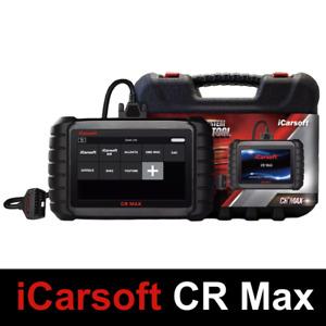 iCarsoft Cr Max 2021- Suitcase Diagnosis Auto Multi-Brand OBD2 Fr Diagnostic