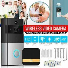 Smart Doorbell Camera Video Wireless intercom Remote Bell CCTV Chime Phone APP