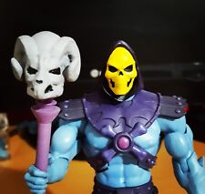 Masters of the Universe SKELETOR MOTUC Filmation HEAD and STAFF scale no figure