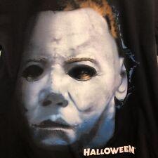 Halloween Horror Nights T-Shirt Mens M Black Michael Myers Big Print Universal