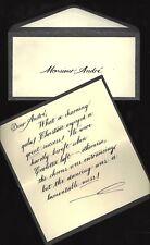 "Michael Crawford ""PHANTOM OF THE OPERA"" Sarah Brightman 1988 Prop Letter"