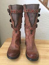 Lavorazione Artigiana beads and zippers boots Size 36 EU