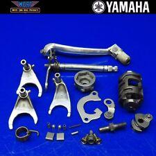 2002 Yamaha YZ250F Transmission Shift Shaft Fork Shifter Drum Gear Change Cam