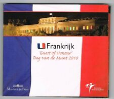 FRANKRIJK  2010 DAG VAN DE MUNT GUEST OF HONOUR EURO 8-COINSET BU BLISTER