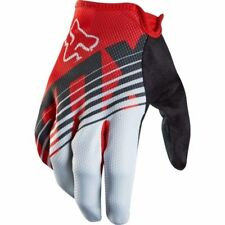 Fox Demo Savant Full Finger Mountain Bike Cycling Gloves Red Size Small New