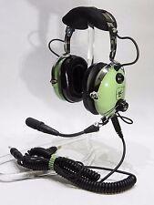 NIB DAVID CLARK H10-60C HEADSET GA/Dual Plugs  p/n 40128G-02 AUTHORIZED DEALER