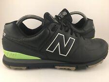 New Balance Mens Nbg574 Black Shoes Size 9.5 (d) Golf Shoes