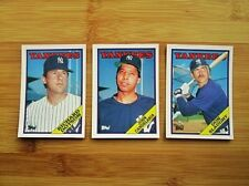 1988 Topps Baseball New York Yankees Traded TEAM SET