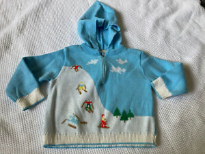 Vintage Baby Boy Ski Sweater