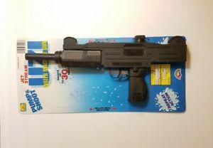 Vintage UZI Water Squirt Machine Gun 80s MOC Pump Action New Pistol Brand New