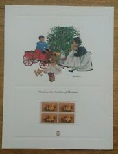 MINT US STAMPS PANEL 1981 TRADITIONS OF CHRISTMAS SCOTT # 1940BLOCK MNH