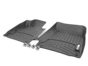 2012-2018 BMW 3-Series WeatherTech Floor Mat Liner F30 xDrive Black Front 444541
